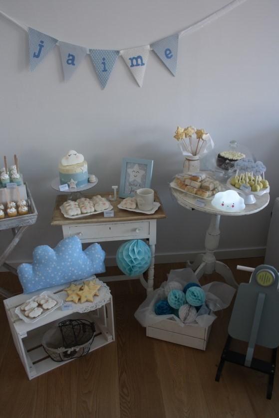 mesa dulce de bautizo