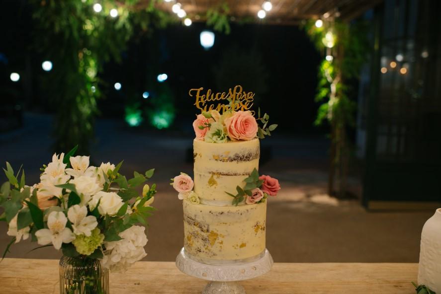 la mesa dulce de nuestra boda